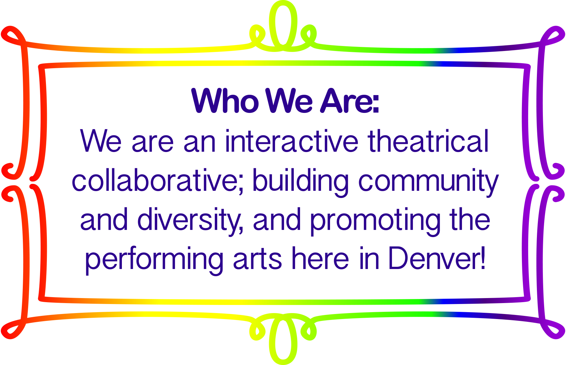 WHO WE ARE | denvertheaterperspectives com